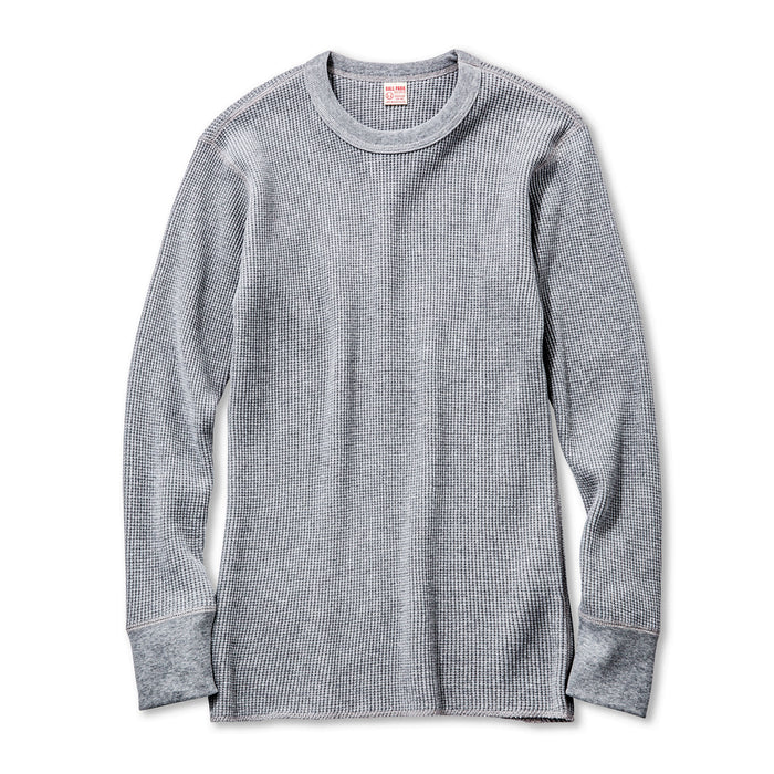 The Real McCoy's - Grey Joe McCoy's Long Sleeve Thermal Shirt