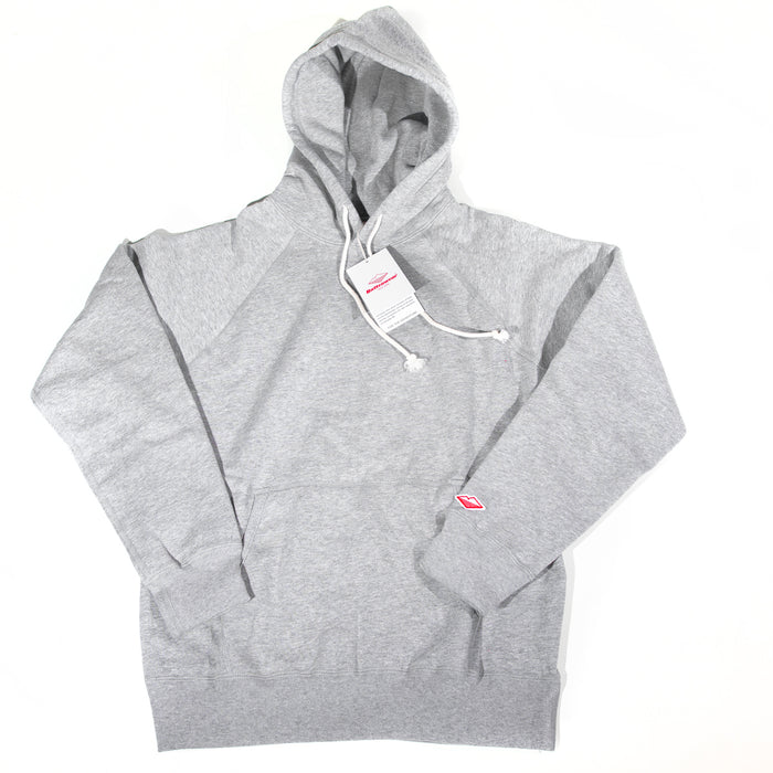 Battenwear - Grey Reach-Up Hoody Sweatshirt