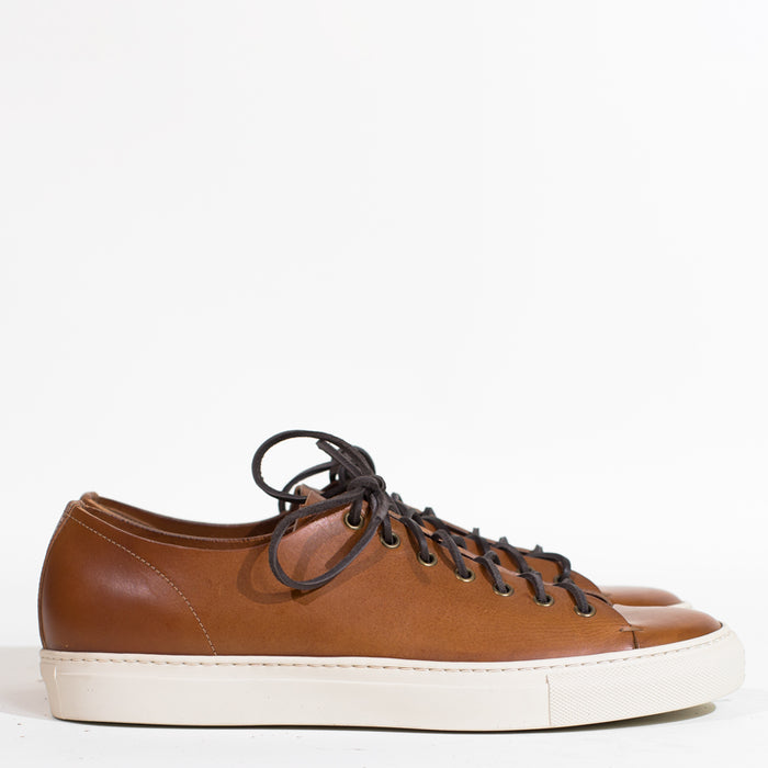 Buttero - Light Brown Leather Tanino Low Sneakers