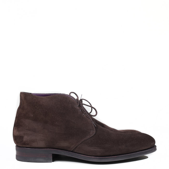 Carmina - Dark Brown Suede Chukka Boot Soller Last Size 7.5 UK