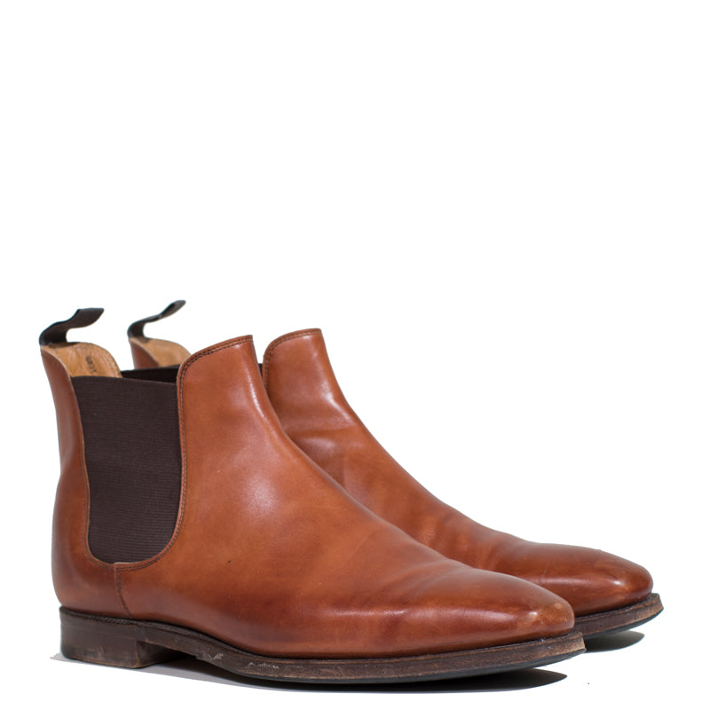 Crockett & Jones - Chestnut Burnished Calf Chelsea III Size 9.5 E