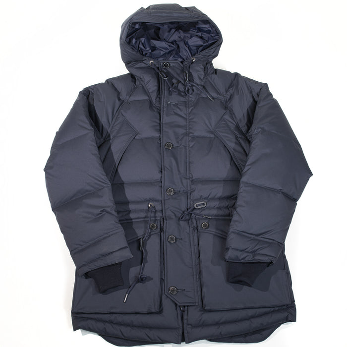 Eastlogue - Navy Fishtail Shield Parka