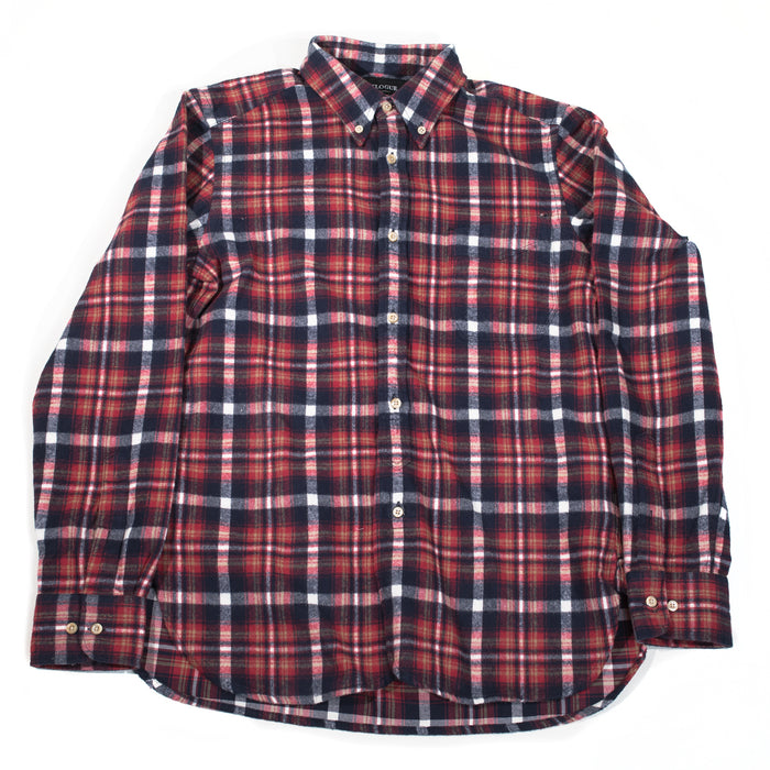 Eastlogue - Red Multi Check Flannel Shirt