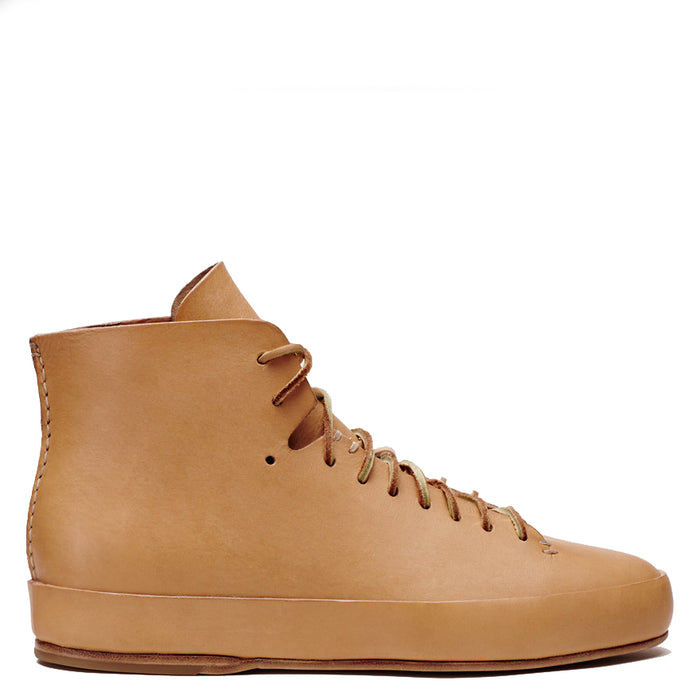 Feit - Natural Veg Tan Hand Sewn High Sneaker