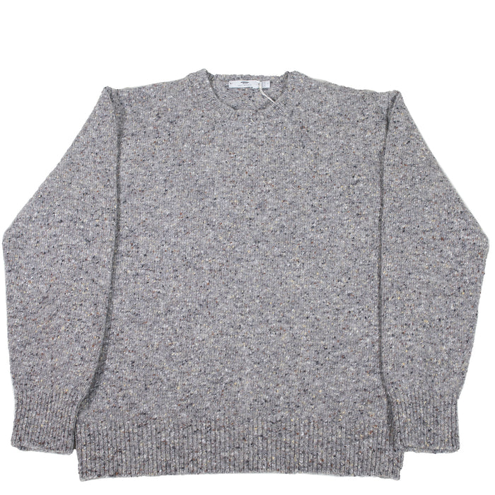 Inis Meáin - Lang Donegal Handknit Crewneck Sweater