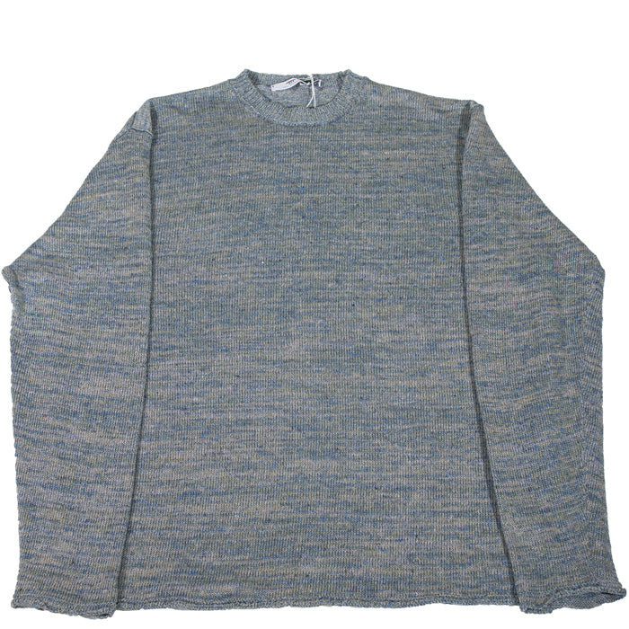Inis Meáin - Oyster Linen Crewneck Sweater