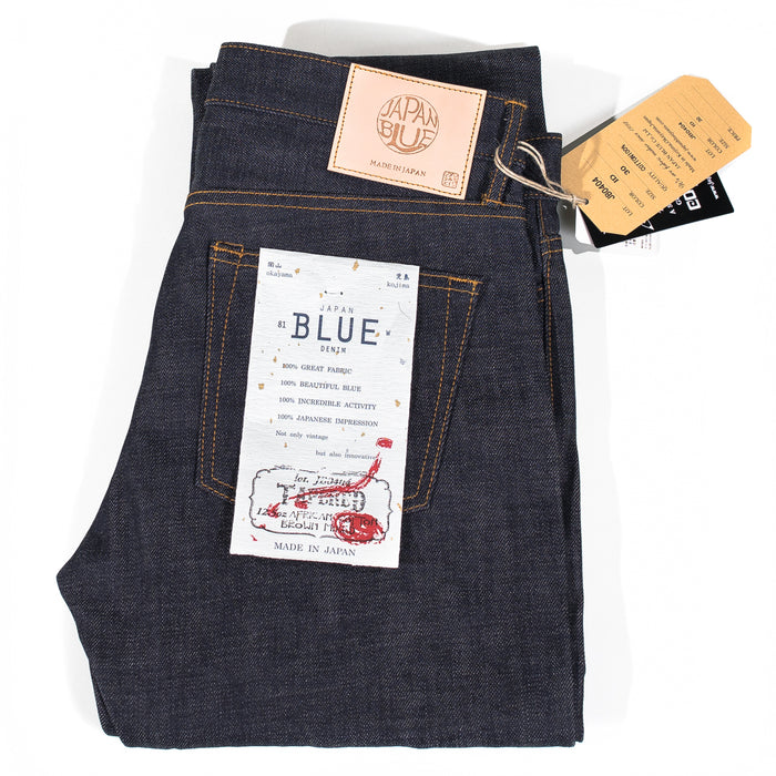 "Japan Blue - JB0404 ""African Cotton"" 12.5oz Selvedge Denim - Tapered Fit"