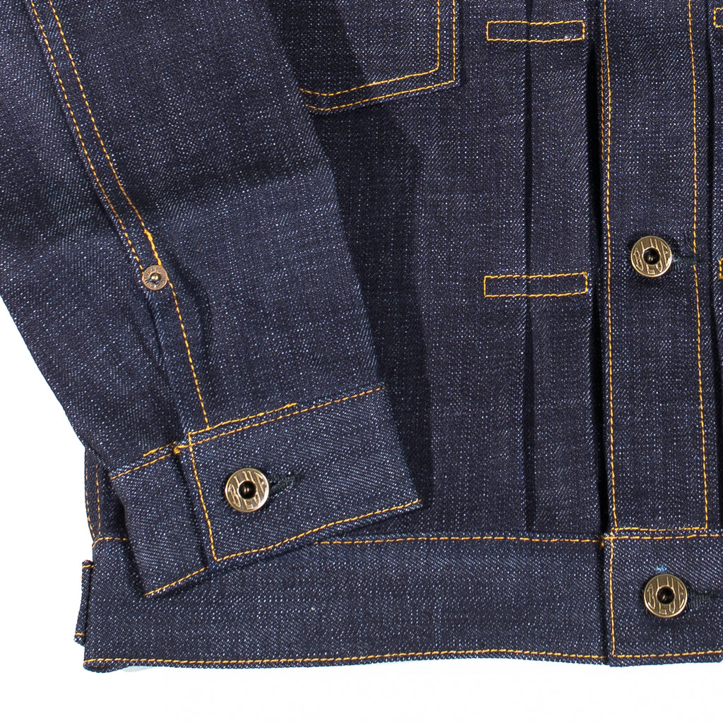 "Japan Blue - JBJK1012 Unsanforized 16.5oz ""Monster"" Selvedge Jacket"