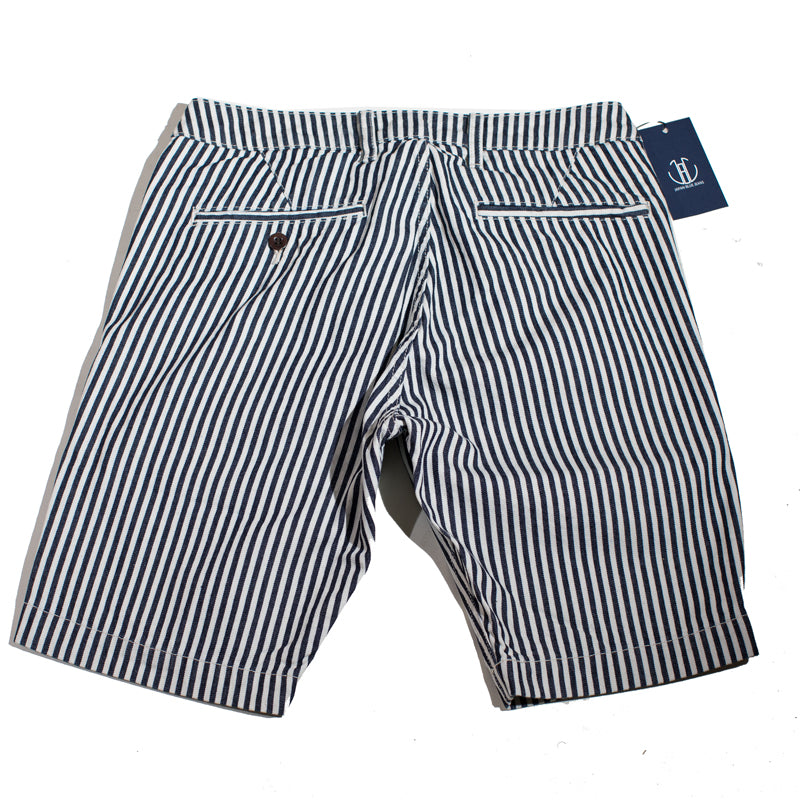 Japan Blue - JB5500 White Stripe Knee Shorts
