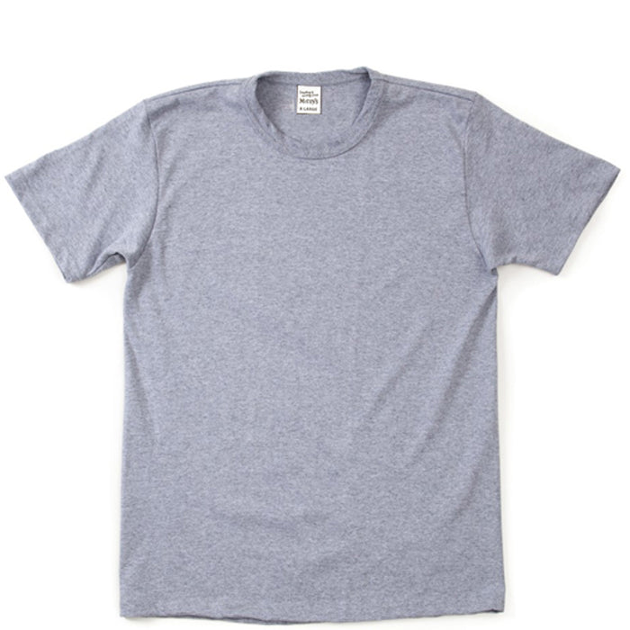 The Real McCoy's - Pack of Two Grey T-Shirts