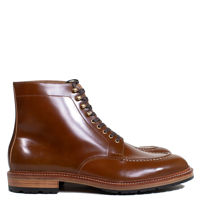 Joe Works Shoemaker - Chestnut Cordovan Apron Derby Boot (50% DEPOSIT PAYMENT)
