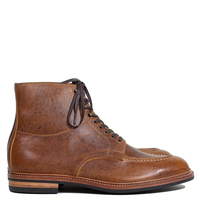 Joe Works Shoemaker - Noix Kudu Apron Derby Boot (50% DEPOSIT PAYMENT)