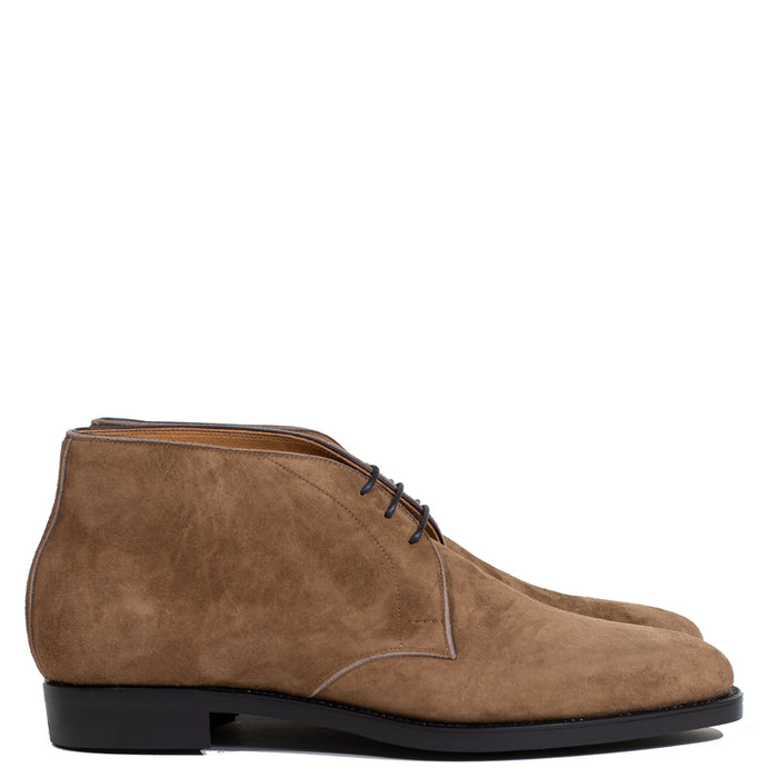 Joe Works Shoemaker - Stone Kudu Roughout Chukka Boot (50% DEPOSIT PAYMENT)