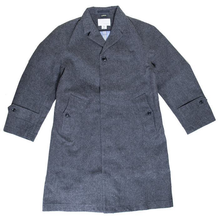 Nanamica - Grey GORE-Tex Chesterfield Coat
