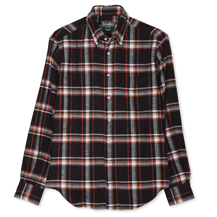 Gitman Vintage - Red Country Plaid Flannel Button Down Shirt