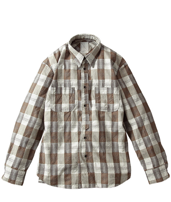 Soulive - Cloudy Nel Brown Button Up Shirt