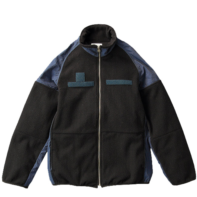 Soulive - Black & Navy CWC Fleece Zip Up Jacket