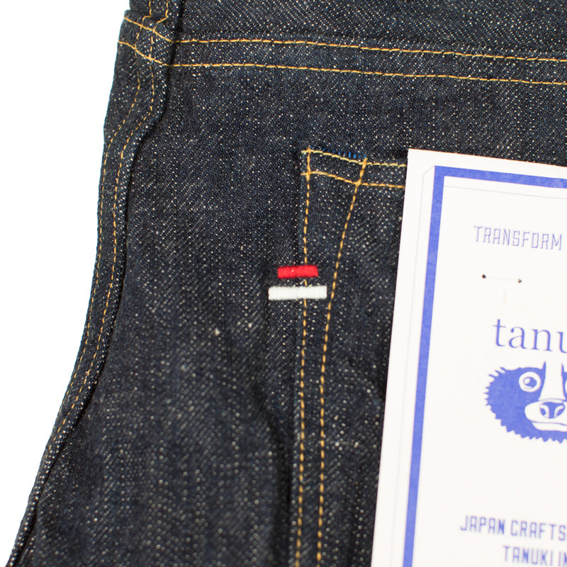 "Tanuki - EHT  18oz ""Earth"" Denim High Tapered"