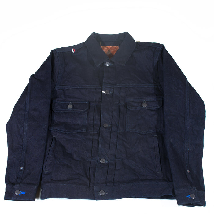 Tanuki- IDJKT2 Double Indigo Type Two Denim Jacket