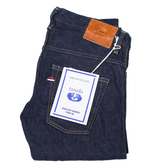 Tanuki - NSXT  16oz Natural Indigo Stretch Denim Tapered