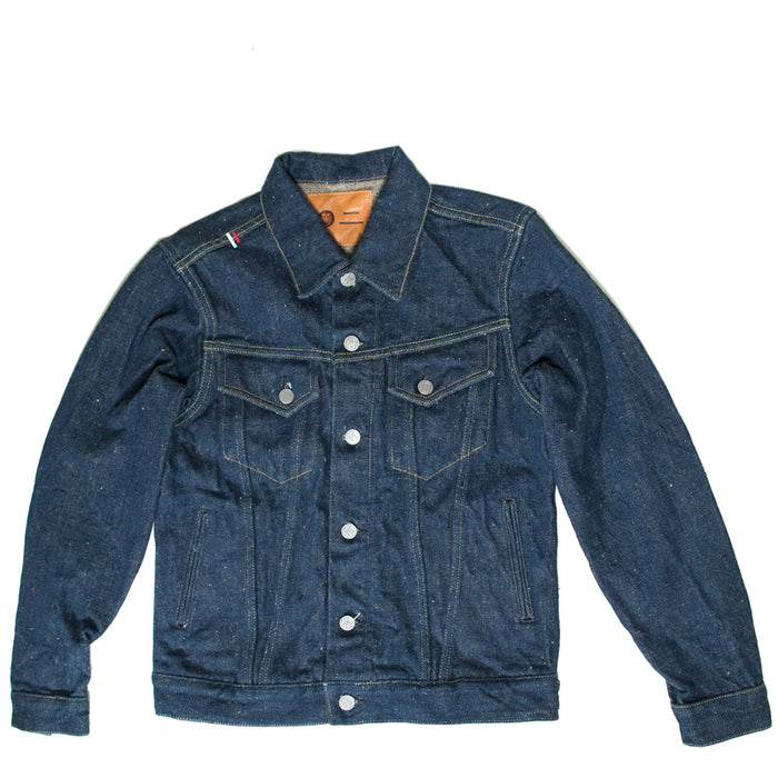 Tanuki x Oni -  OTJKT3 21.5 OZ Secret Denim Fabric Type Three Jacket