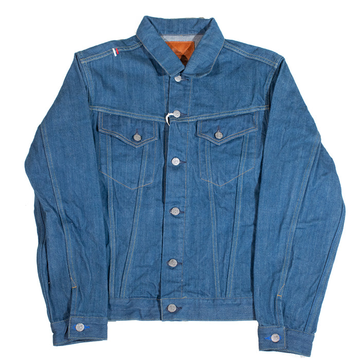"Tanuki- KJKT3 ""Kaze"" Fabric Type Three Denim Jacket"