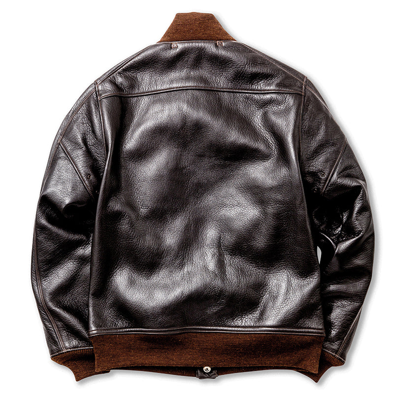 The Real Mccoy's - Type A-1 Deerskin Brown Leather Jacket