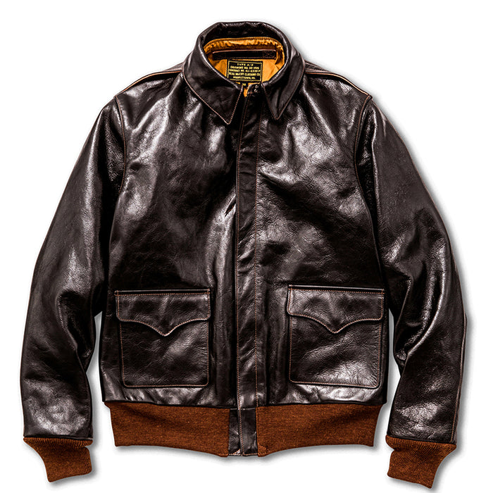 The Real Mccoy's - Type A2 Horsehide Brown Leather Jacket