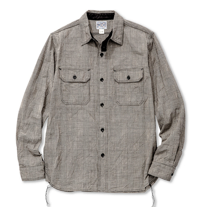 The Real McCoy's - 8 HOUR GLEN PLAID WORKSHIRT
