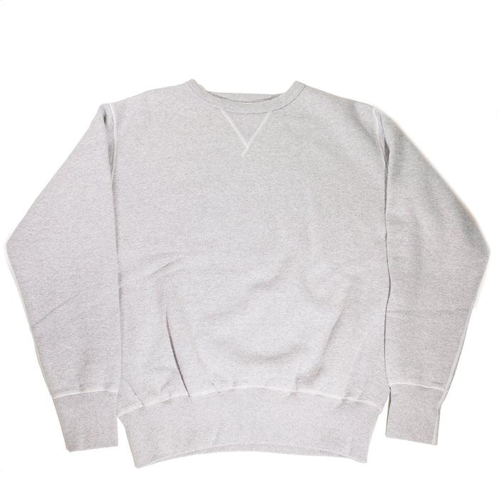 The Strike Gold - Grey Loopwheeled Crewneck Sweater