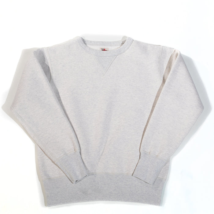 The Strike Gold - Oatmeal Loopwheeled Crewneck Sweater
