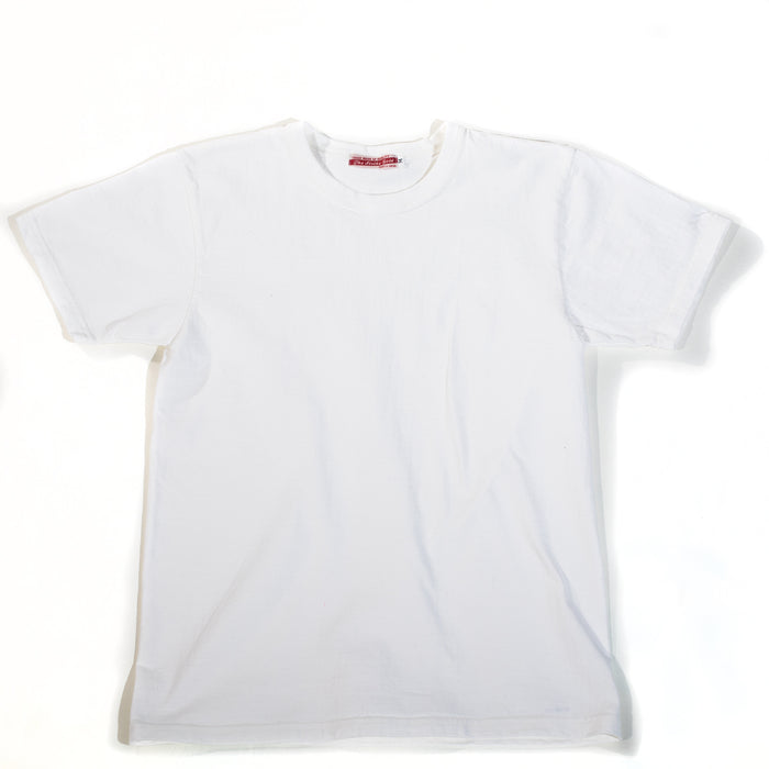The Strike Gold - White Loopwheeled T-Shirt
