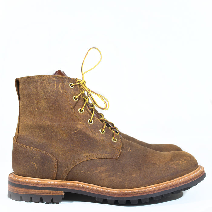 Tricker's - Two Tone Cuba Waxy + Antique Beechnut Logger Boot