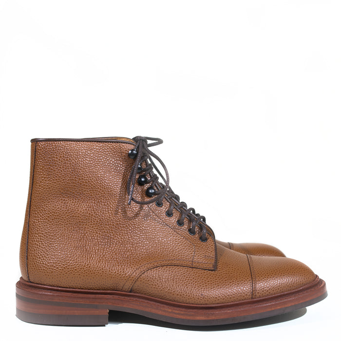 Tricker's - Sienna Grain Scott Cap Toe Boot
