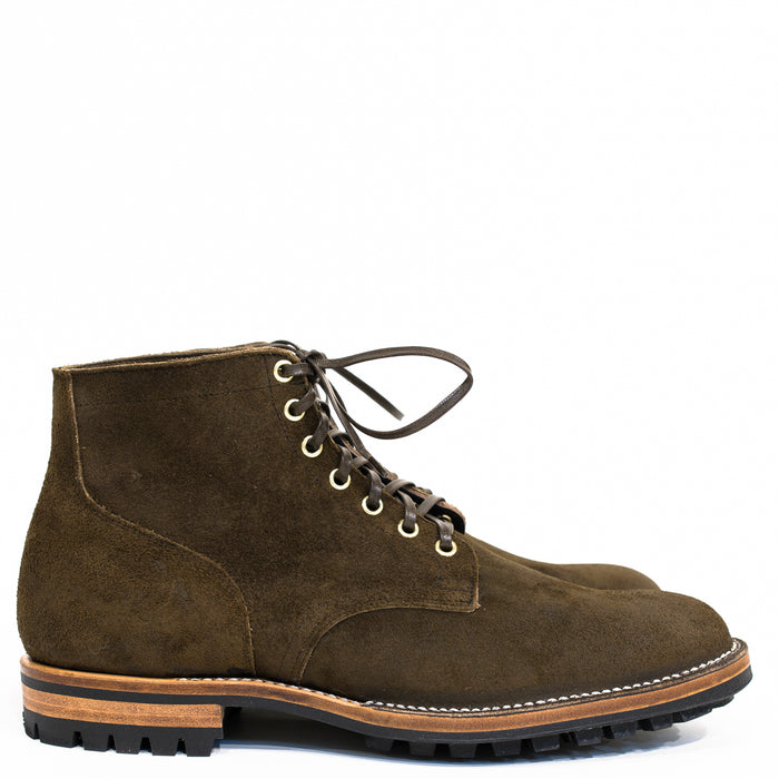 Viberg - Mushroom Chamois Roughout Service Boot 2030 Last