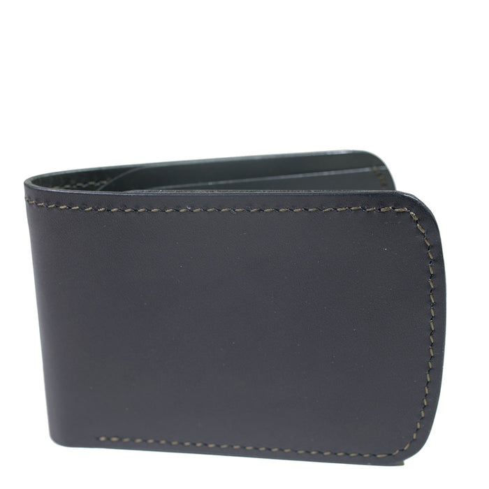 Waxwing Leather - Black/Olive Classic Bifold