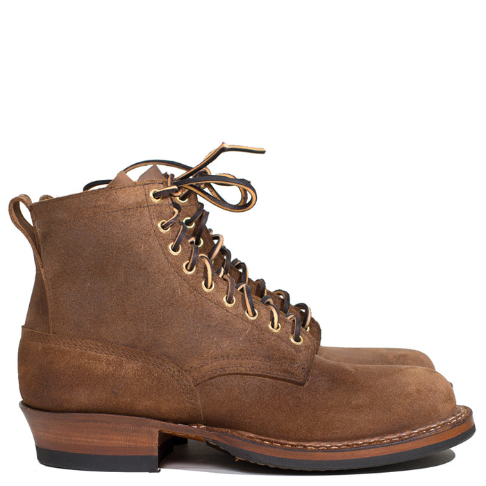 White's Boots - Distressed Brown Roughout Smoke Jumper 4811 Last 50% Deposit (Pre-Order)