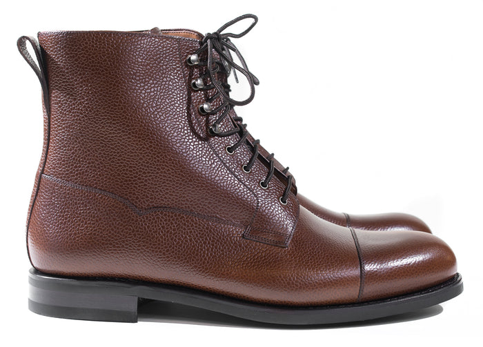 Yanko - Dark Brown Grain Boots 960 Last