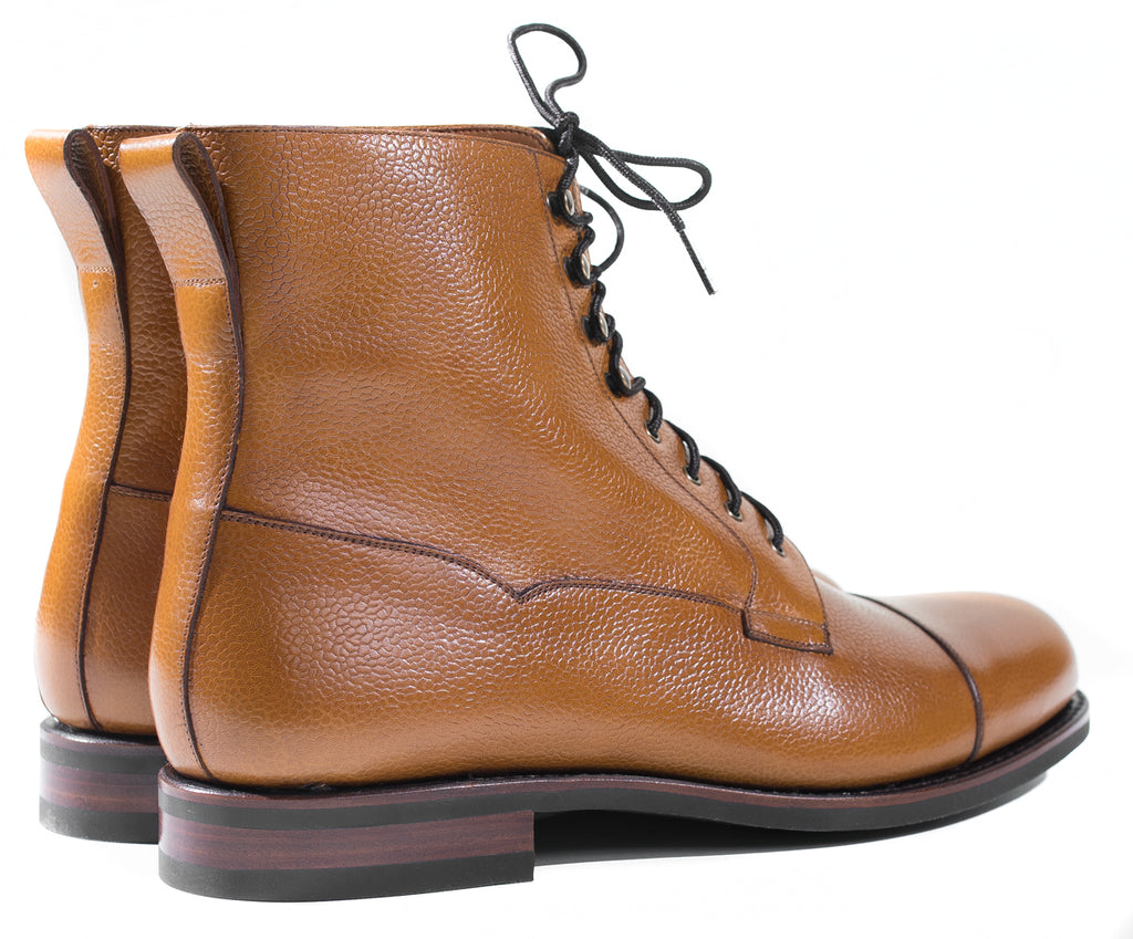 Yanko - Light Brown Grain Boots 960 Last