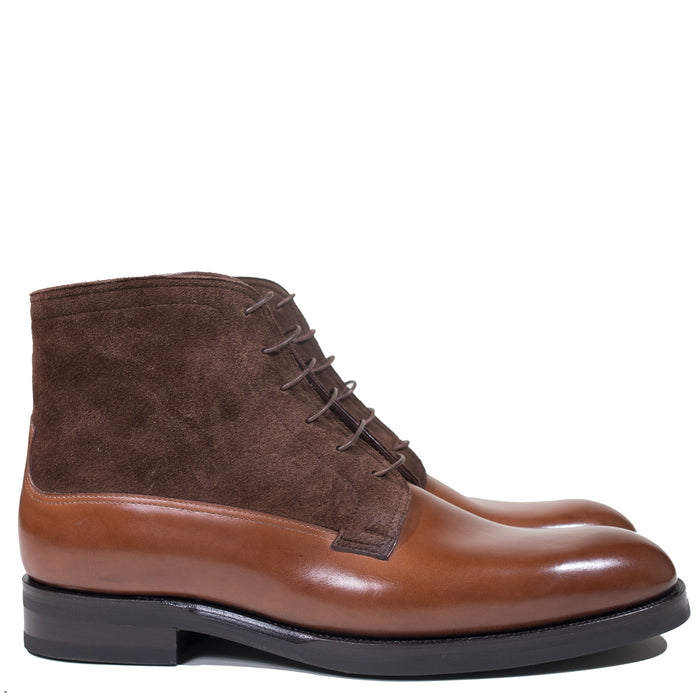 Zonkey Boot - ZB 142 Bavarian Calf Sienna Brown / Brown Suede Boot