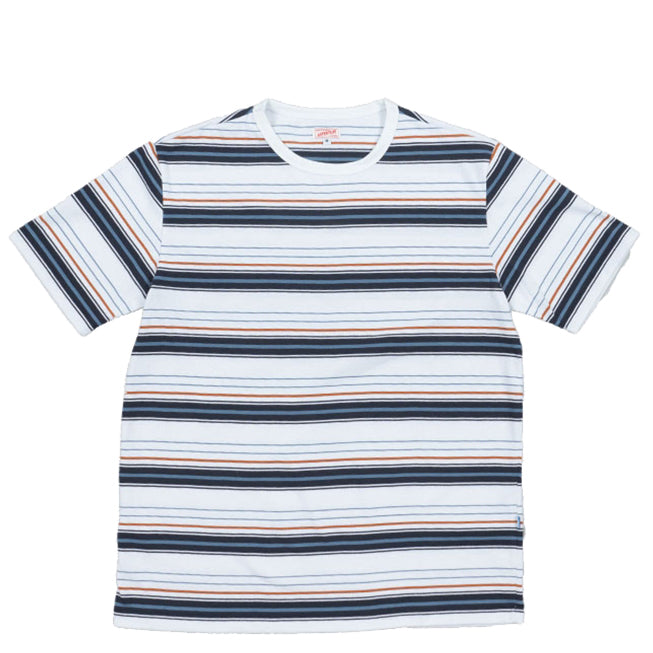 Arpenteur - White, Orange, Navy Blue, Match T-Shirt
