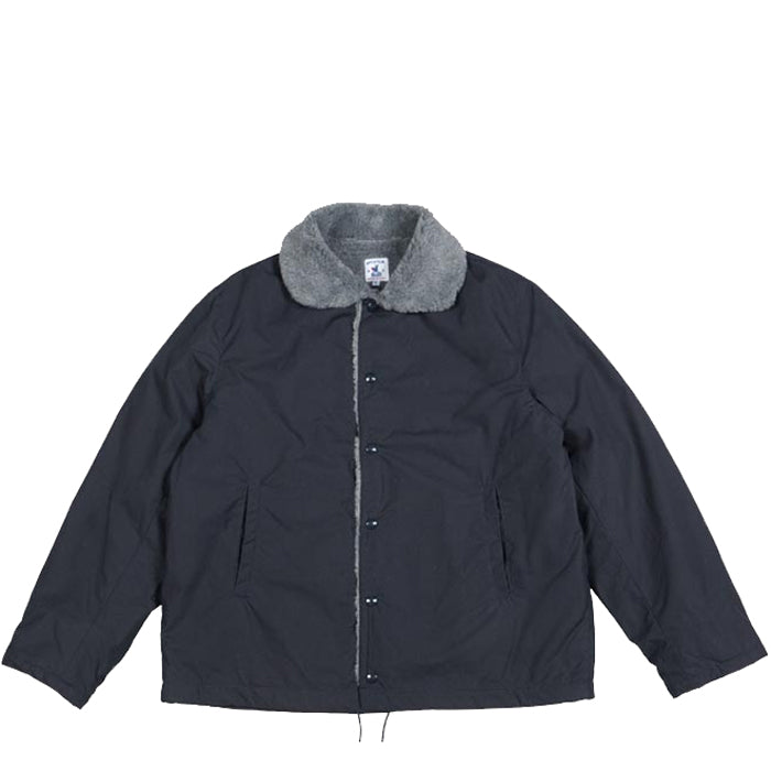 Arpenteur - Faux Fur-Lined Cotton Quart Jacket