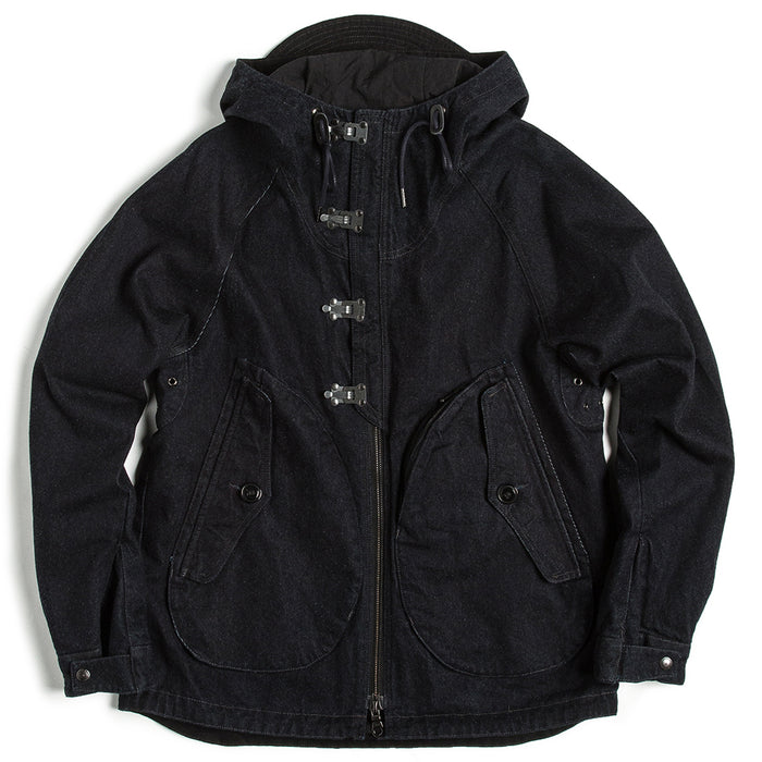 Eastlogue - Dark Navy Denim Jumper Coat