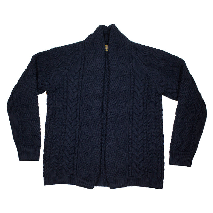 Batoner - Black Wool Cardigan