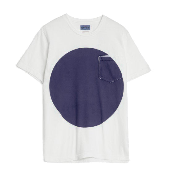 Blue Blue Japan - Navy Big Circle T-Shirt