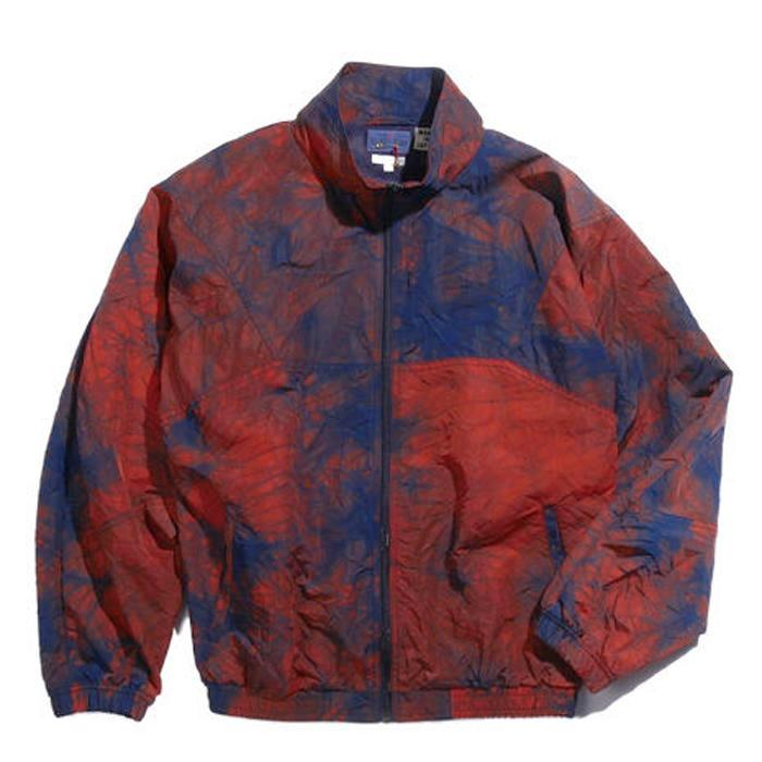 "Blue Blue Japan - ""KAGOZOME"" NYLON OXFORD WARM-UP JACKET"