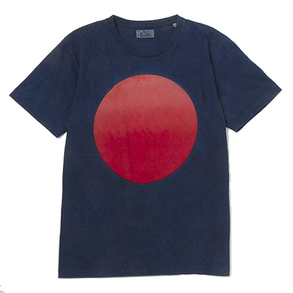 Blue Blue Japan - Indigo Gradation Circle T-Shirt