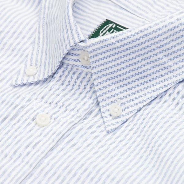 Gitman Vintage - Blue Stripe Oxford Button Up Shirt