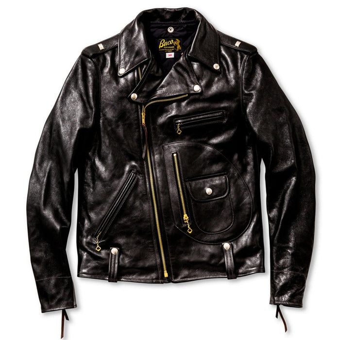 The Real Mccoy's - Buco J-24 Black Horsehide Leather Jacket