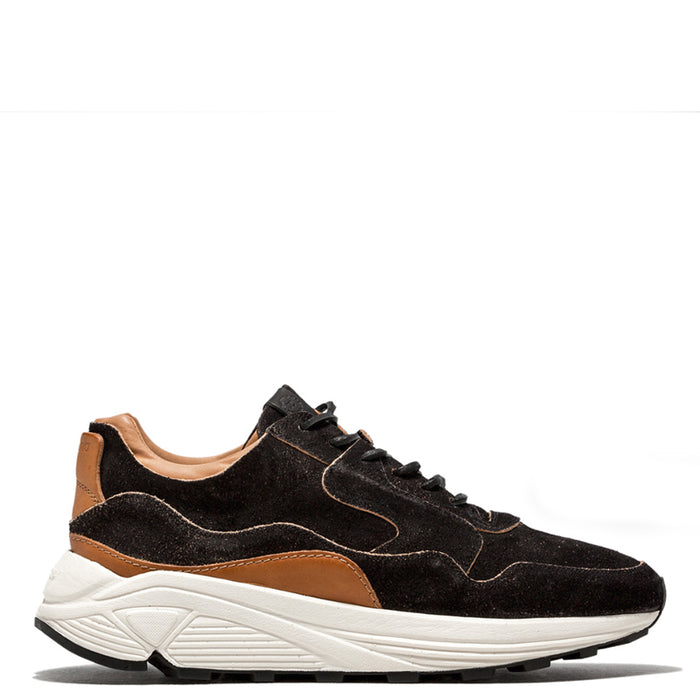 Buttero - Black Monkey Calf Vinci Sneakers
